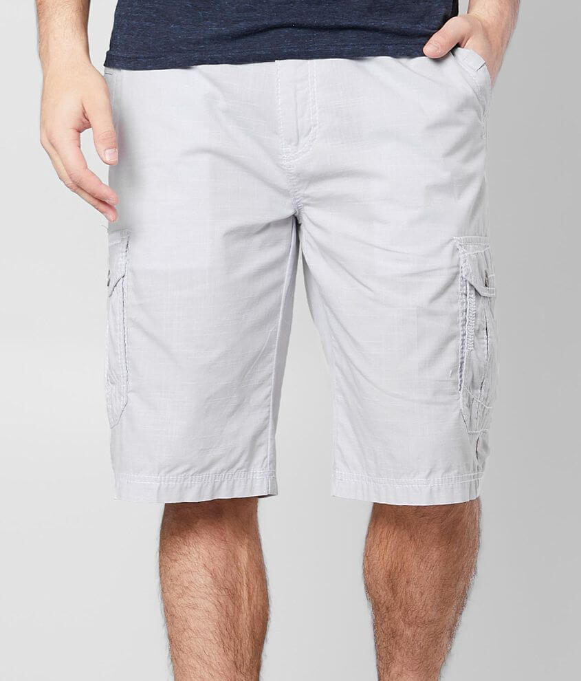 Buckle Black Fire Ripstop Cargo Short front view