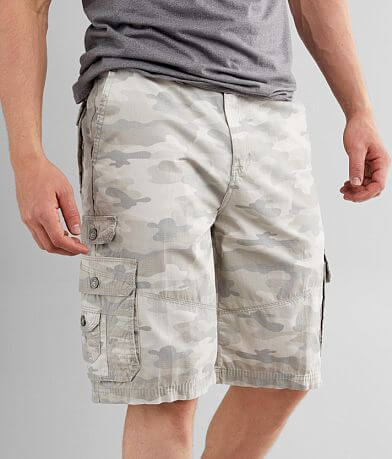 Buckle Black Isaac Camo Cargo Short