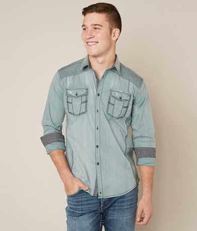 Buckle Black Crazy Again Stretch Shirt