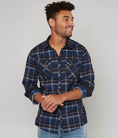 Buckle Black When It Happened Stretch Shirt