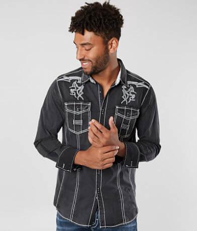 Buckle Black Goodbye Stretch Shirt