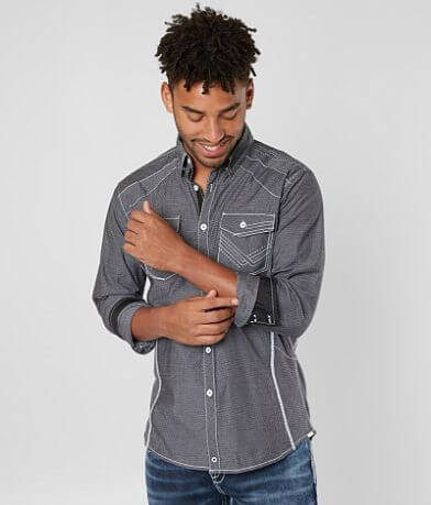 Buckle Black Montgomery Stretch Shirt