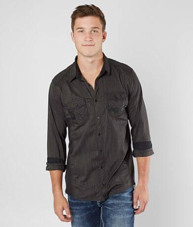 Buckle Black Mertzon Stretch Shirt