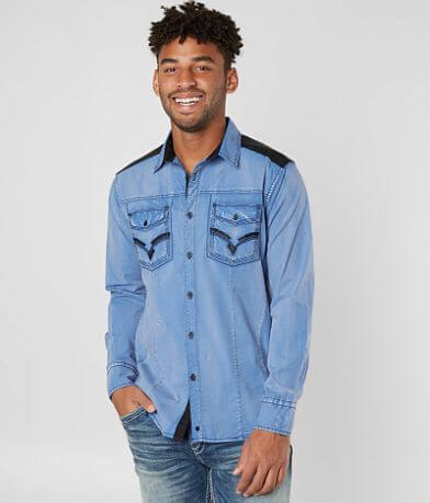 Buckle Black Memphis Stretch Shirt