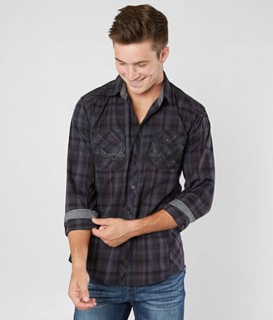 Buckle Black Menard Stretch Shirt