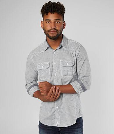 Buckle Black Marled Standard Stretch Shirt