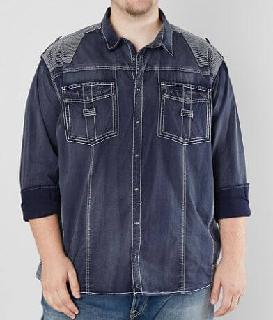 Buckle Black Meridian Stretch Shirt - Big & Tall