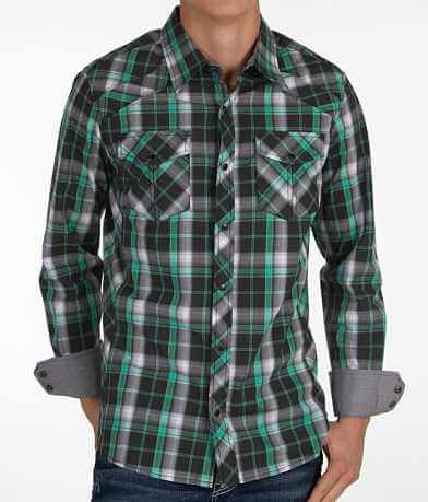 Buckle Black Polished Catch Stretch Shirt
