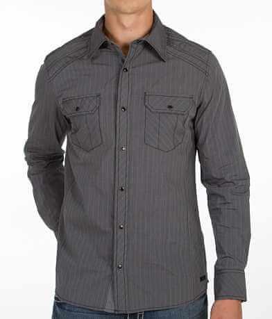 Buckle Black Polished Lynnwood Shirt