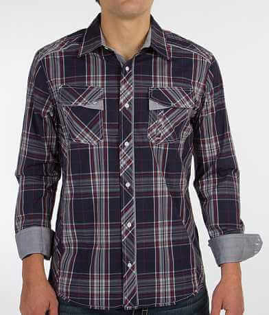 Buckle Black Polished Together Stretch Shirt
