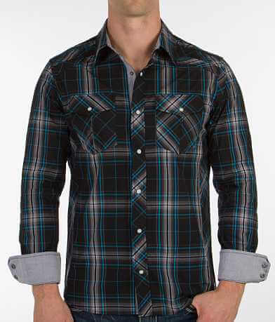 Buckle Black Polished Naturally Stretch Shirt
