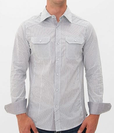 Buckle Black Polished Jack Stretch Shirt