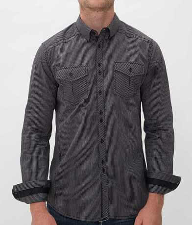 Buckle Black Polished Little Bit Stretch Shirt