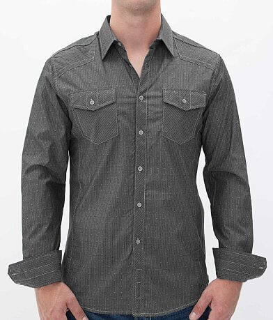 Buckle Black Polished Drive Shirt