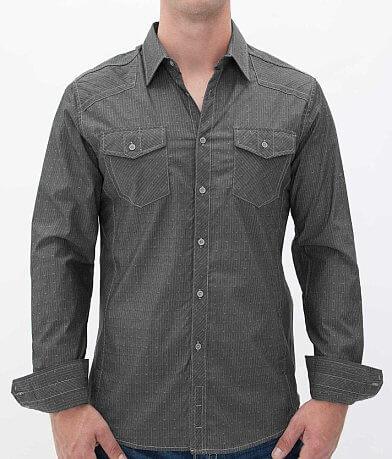 Buckle Black Polished Drive Shirt