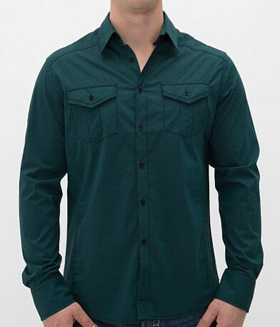 Buckle Black Polished Hero Stretch Shirt