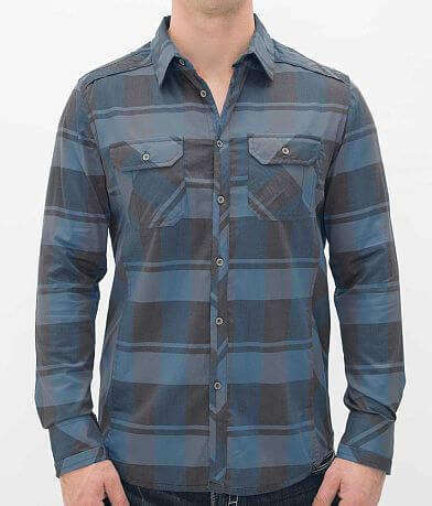 Buckle Black Polished Alive Stretch Shirt