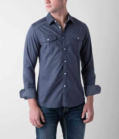 Buckle Black Polished Come & Go Stretch Shirt