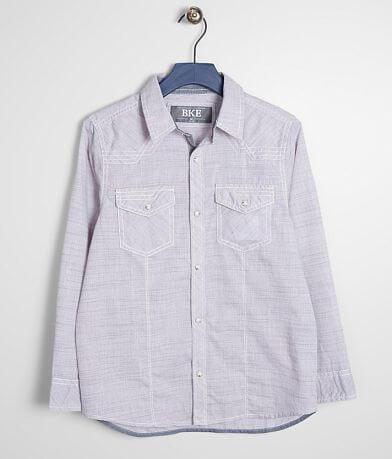 Boys - BKE Marled Woven Shirt