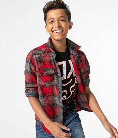 Boys - BKE Plaid Shirt