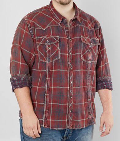 BKE Vintage Monahans Shirt - Big & Tall