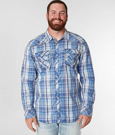 cf9bbe0a3d BKE Vintage Plaid Shirt - Big & Tall