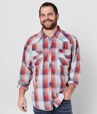 BKE Vintage Plaid Shirt - Big & Tall