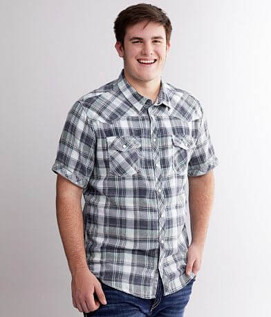 BKE Vintage Plaid Shirt - Big & Tall