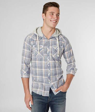 BKE Vintage Osbourn Hooded Shirt