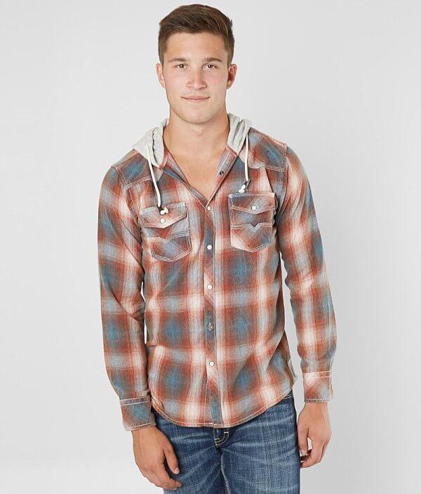 Vintage Shirt BKE BKE Turner Vintage Hooded Hooded Shirt Turner BKE AU57qwP