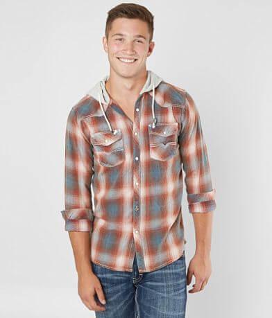 BKE Vintage Turner Hooded Shirt
