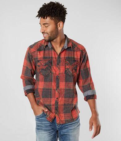 BKE Vintage Parachute Flannel Shirt