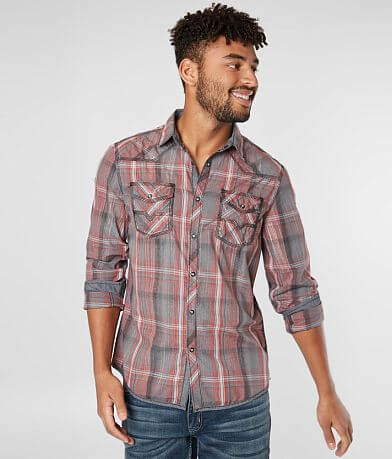 BKE Vintage Plaid Athletic Shirt