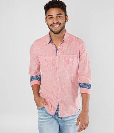 BKE Vintage Washed Standard Shirt