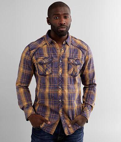 BKE Vintage Washed Standard Shirt
