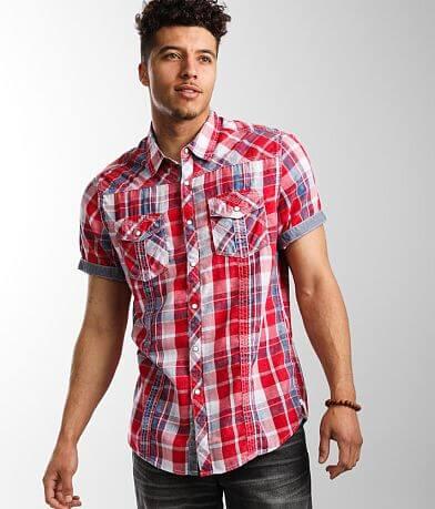 BKE Vintage Plaid Athletic Shirt