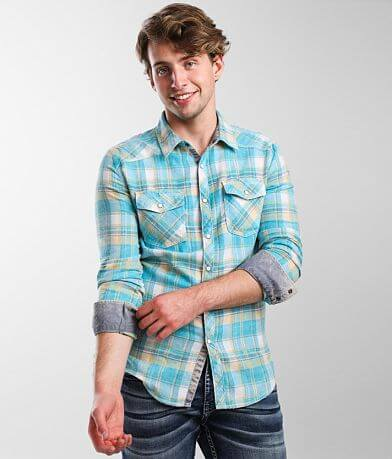 BKE Vintage Flannel Tailored Shirt