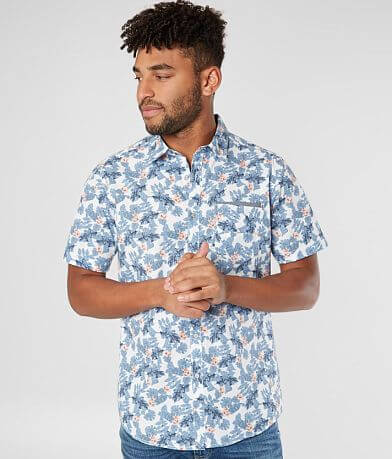 Departwest Floral Print Shirt