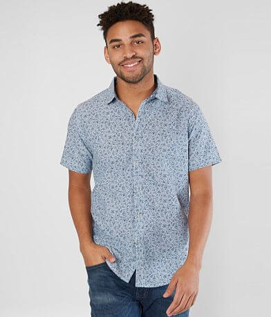 Departwest Floral Chambray Shirt