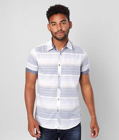 Departwest Striped Woven Shirt