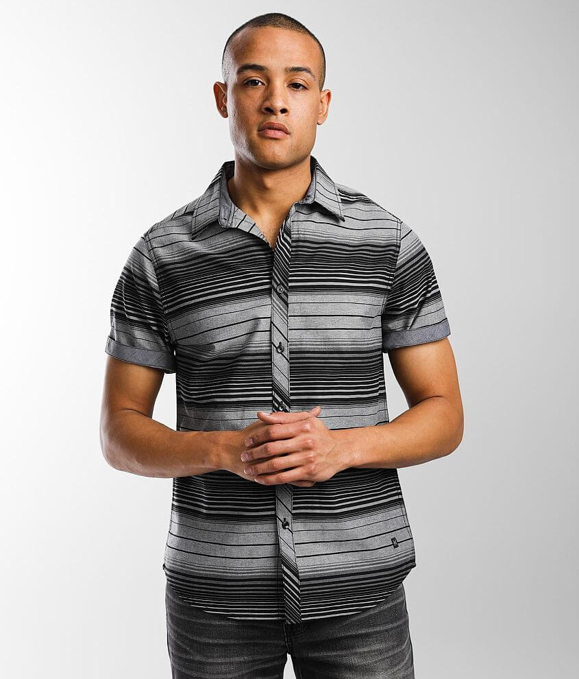 Departwest Striped Shirt front view