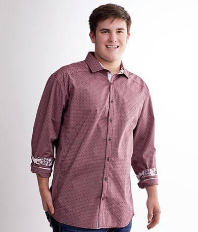 J.B. Holt Printed Stretch Shirt - Big & Tall