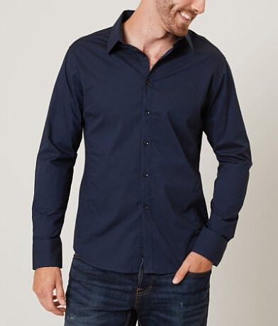 J.B. Holt Pinstripe Stretch Shirt