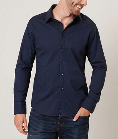 J.B. Holt Pinstripe Stretch Shirt