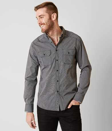 J.B. Holt Striped Stretch Shirt