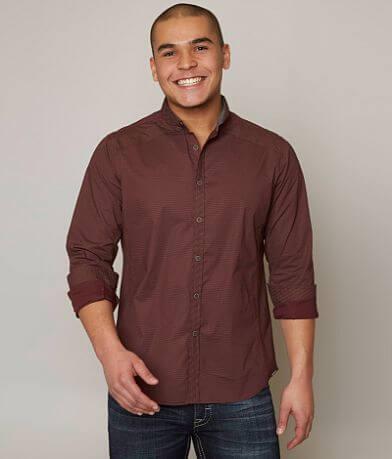 J.B. Holt Dotted Stretch Shirt