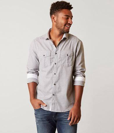 J.B. Holt Patterned Stretch Shirt
