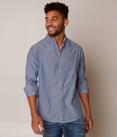 J.B. Holt Textured Stretch Shirt