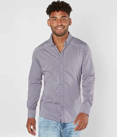 J.B. Holt Embroidered Stretch Shirt