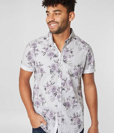 J.B. Holt Floral Standard Stretch Shirt